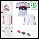 Camisa De Futebol Bayern München 2015-2016 Ii Infantil