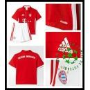 Camisa Du Futebol Bayern Munich 2016-2017 I Infantil
