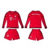 Bayern München Camisa De Futebol Manga Longa 2015 2016 I Infantil