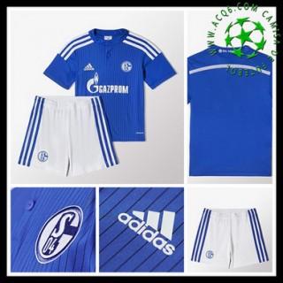 Camisas Du Futebol Schalke 04 2015/2016 I Infantil