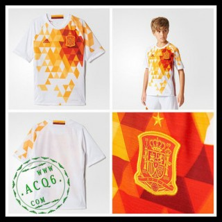 Camisa Espanha Autêntico Ii Euro 2016 Infantil