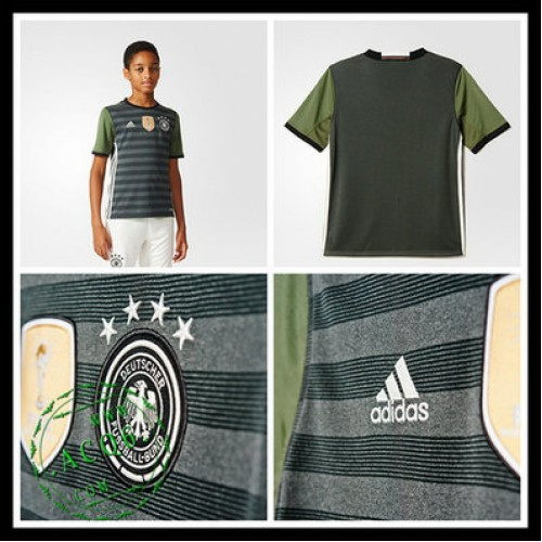 Camisas De Futebol Alemanha Autêntico Ii Euro 2016 Infantil ... ea522a91d06d8