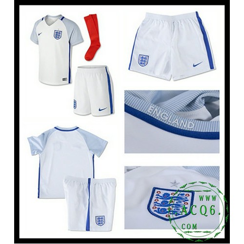 A Partir De Venda Camisa Futebol Inglaterra Infantil Euro 2016 2017 I Loja  On-Line 98e6ec65e472d