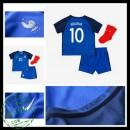 Camisa De Futebol França Benzema Euro 2016/2017 I Infantil