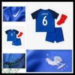 Camisa Du Futebol França Cabaye Euro 2016/2017 I Infantil