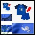 Camisas Du Futebol França Matuidi Euro 2016/2017 I Infantil