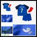 Camisas França Griezmann Euro 2016/2017 I Infantil