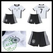 b111a9947c Uniforme Futebol (7 Schweinsteiger) Alemanha Autêntico I Euro 2016 Infantil