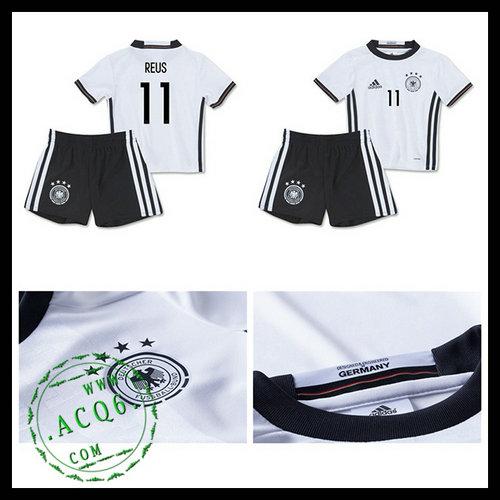 Camisas Du Futebol (11 Reus) Alemanha Autêntico I Euro 2016
