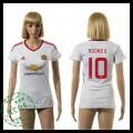 Manchester United Camisas Du Futebol Rooney 2015/2016 Ii Feminina