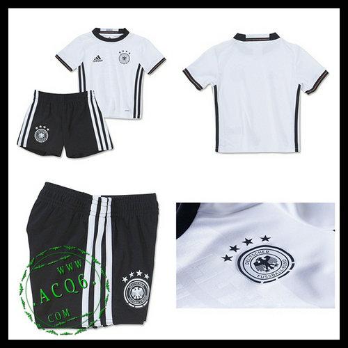 Camisa Alemanha Autêntico I Euro 2016 Infantil - camisolas de ... 82c0086925650