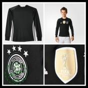 Camisa Futebol Alemanha Autêntico I Manga Longa Goleiro Euro 2016 Infantil f9e74b936dd95