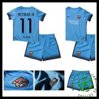 Camisas Futebol Barcelona (11 Neymar Jr) 2015/2016 Iii Infantil