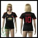 Manchester United Uniforme De Futebol Rooney 2015-2016 Iii Feminina