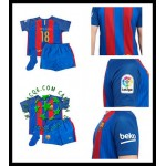 Redenção Uniforme Futebol Jordi Alba Barcelona Infantil 2016-2017 I Loja On-Line