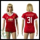 Manchester United Uniforme De Futebol Schweinsteiger 2015 2016 I Feminina