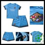 Camisa Barcelona 2015 2016 Iii Infantil