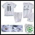 Camisas Futebol Real Madrid (11 Bale) 2015 2016 I Infantil