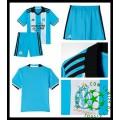Uniforme Futebol Olympique Marseille 2016 2017 Iii Infantil