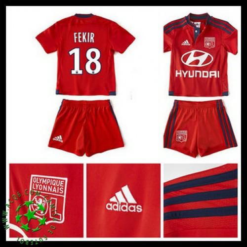 70ce50ea3cc59 Camisas Futebol Olympique Lyonnais Fekir 2015 2016 Ii Infantil ...