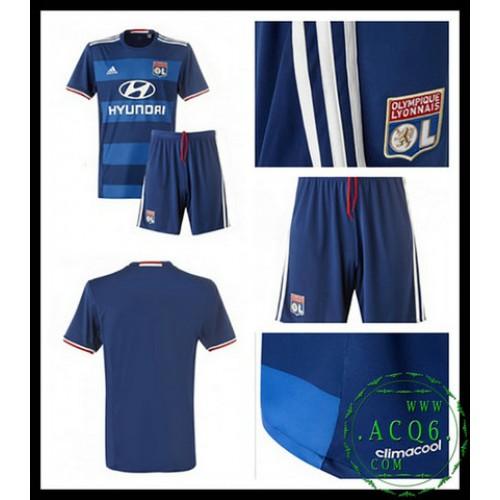 A Partir De Venda Camisas Futebol Olympique Lyonnaise Infantil 2016 2017 Ii  On-Line 8ffddf945955e