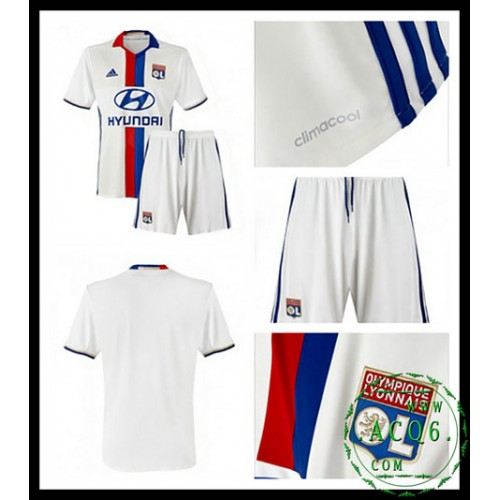 909b7ff447020 Comprar Camisas Du Futebol Olympique Lyonnaise Infantil 2016-2017 I Loja On- Line