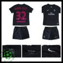 Camisas De Futebol Paris Saint Germain David Luiz 2015/2016 Iii Infantil