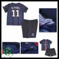 Camisa Futebol Paris Saint Germain Di Maria 2015-2016 I Infantil