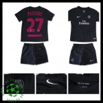 Camisa Futebol Paris Saint Germain Pastore 2015/2016 Iii Infantil