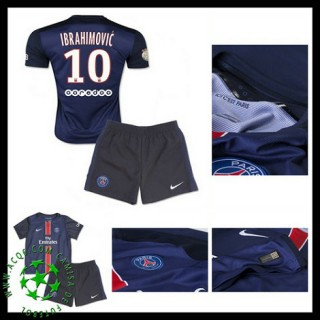 Camisas Du Futebol Paris Saint Germain Ibrahimovic 2015-2016 I Infantil