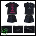 Camisas Paris Saint Germain T.Silva 2015 2016 Iii Infantil