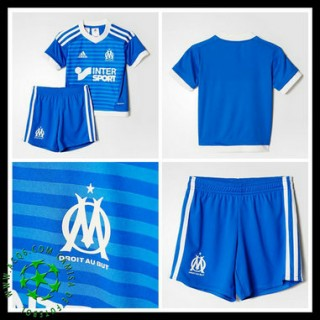 Uniforme De Futebol Olympique De Marseille 2015-2016 Iii Infantil