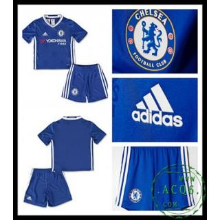 Comprar Uniforme De Futebol Chelsea Fc Infantil 2016 2017 I Mais Barato Online