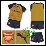 Camisa Futebol Arsenal 2015-2016 Ii Infantil