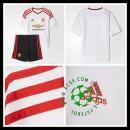 Camisa De Futebol Manchester United 2015 2016 Ii Infantil