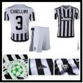 Camisa Futebol Juventus (3 Chiellini) 2015/2016 I Infantil