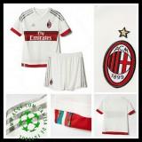 Camisa Futebol Ac Milan 2015 2016 Ii Infantil