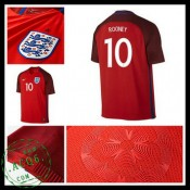 Uniformes Futebol Inglaterra Rooney Euro 2016/2017 Ii Masculina