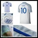 Camisa Futebol Inglaterra Rooney Euro 2016/2017 I Masculina