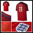 Camisas Futebol Inglaterra Sterling Euro 2016/2017 Ii Masculina