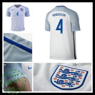 Uniforme De Futebol Inglaterra Henderson Euro 2016/2017 I Masculina