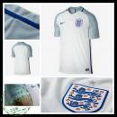 Uniformes De Futebol Inglaterra Euro 2016/2017 I Masculina