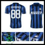 Camisas Du Futebol Inter De Milão (88 Hernanes) 2015-2016 I Masculina