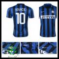Camisa De Futebol Inter De Milão (10 Kovacic) 2015 2016 I Masculina