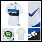Camisa De Futebol Inter De Milão 2015-2016 Ii Masculina