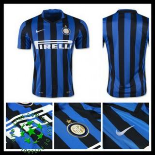 Camisa Futebol Inter De Milão 2015 2016 I Masculina