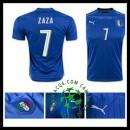 A Partir De Loja Uniforme De Futebol Zaza Itália Masculina 2016-2017 I On-Line