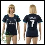 Real Madrid Camisa De Futebol Ronaldo 2015-2016 Iii Feminina