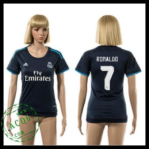 Real Madrid Camisa De Futebol Ronaldo 2015-2016 Iii Feminina ... 435e12cde9979