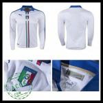 Camisa Du Futebol Itália Autêntico Ii Manga Longa Euro 2016 Masculina